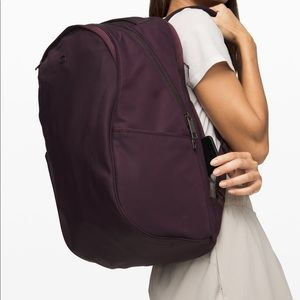 Lululemon Out Of Range 20L Backpack Black Cherry